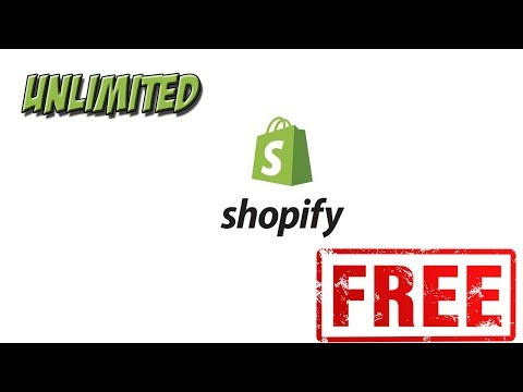 How to get Shopify Free Forever!    Unlimited Shopify Tutorial thumbnail
