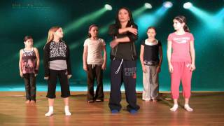 Hip Hop Dance Lesson Online with Caroline - Ball, Change, Step Hip Hop Dancing Lessons(Caroline takes the kids through a basic hip hop step called