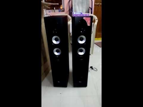 F&D T-60X 2.0 Tower music system.