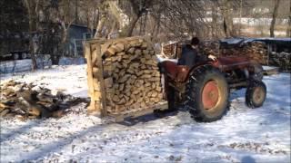 Portable firewood racks