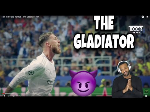 NBA FAN REACT TO...This Is Sergio Ramos - The Gladiator HD( BEST DEFENDER I SEEN )
