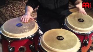 MEINL Percussion artist Carlos Maldonado on Congas