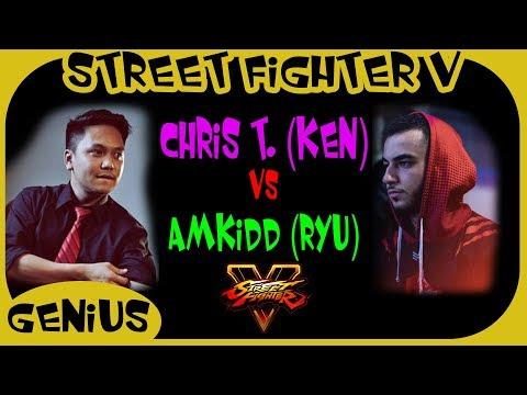 SFV - Matches | Chris Tatarian vs AMKidd (Ken vs Ryu)