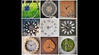 dIY Настенные часы из дерева своими руками фото handmade дизайн