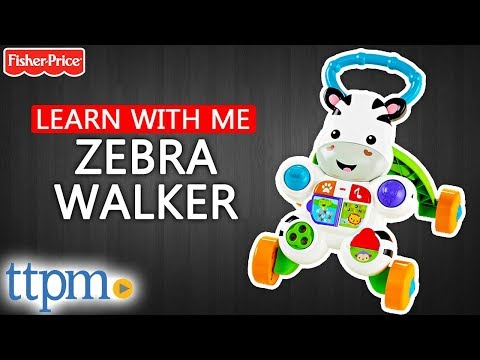 Learn with Me Zebra Walker [REVIEW & Instructions] | Fisher-Price Toys & Games