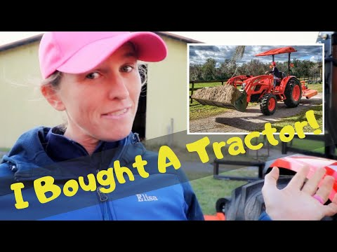 I Bought A Tractor! Kioti Tractor Review