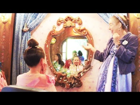 Bibbidi Bobbidi Boutique Fairytale Princess at Disneyland - Princess Kaylee