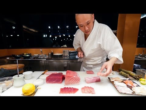 Sushi Omakase -  PERFECT Japanese Food Sushi by Chef Hiroyuki Sato at Sri Panwa, Phuket!