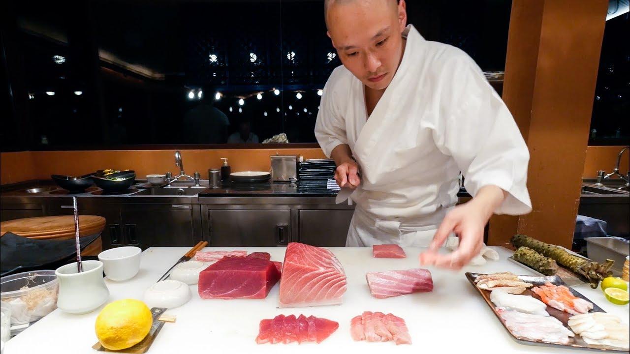 Sushi Omakase Perfect Japanese Food Sushi By Chef Hiroyuki Sato At