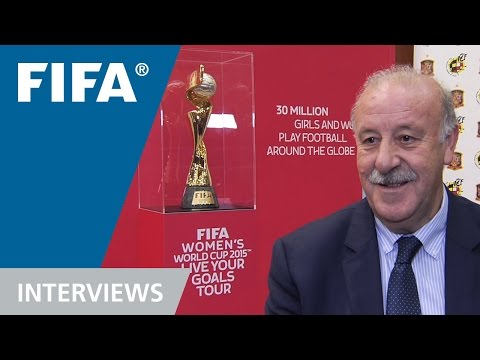 Del Bosque: 'These young women have an influence in Spain'