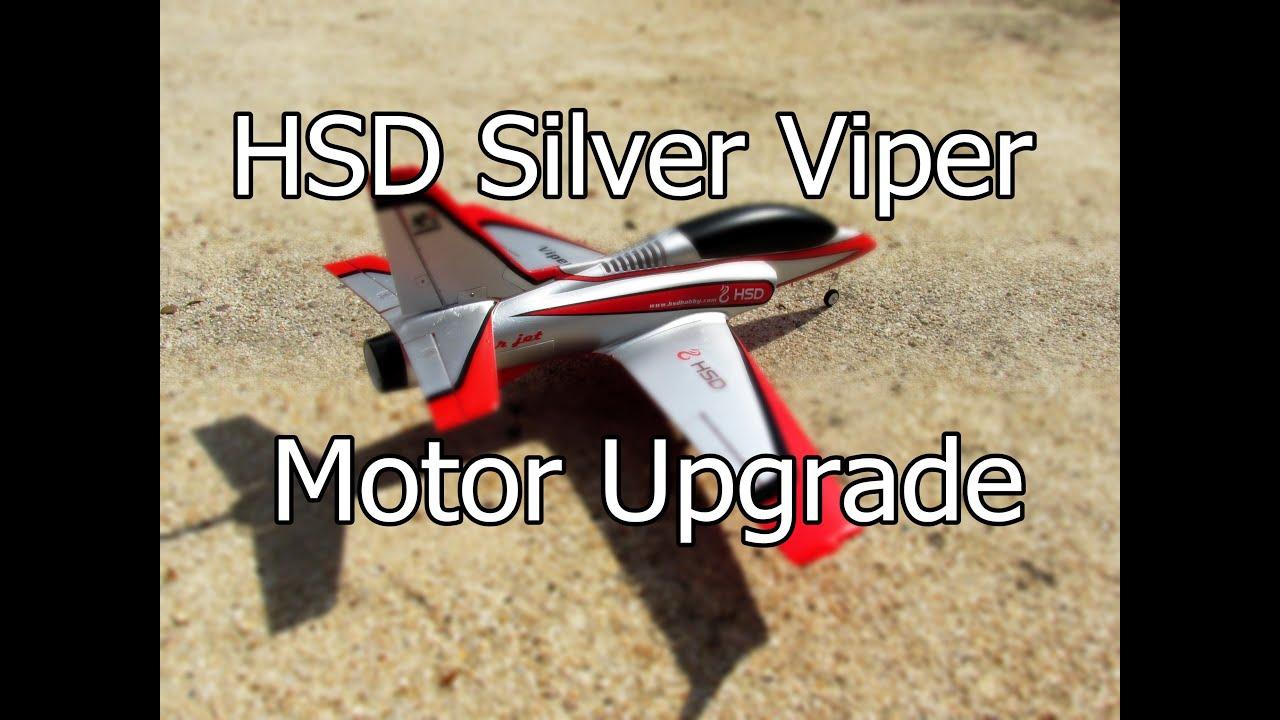 Hsd Silver Viper Jet 75mm Motor Upgrade Youtube