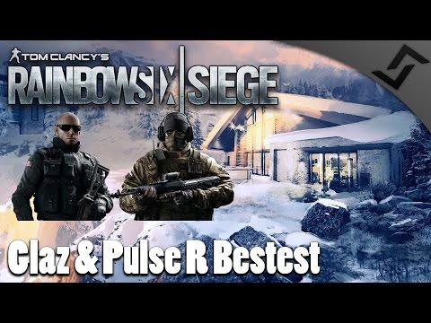Glaz & Pulse R Bestest - Rainbow Six: Siege Ranked Multiplayer Gameplay