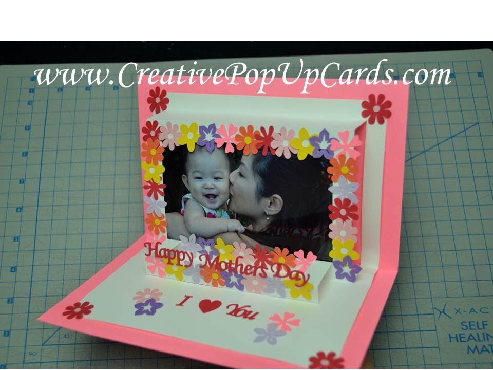 Simple Mother\'s Day Photo Frame Tutorial - YouTube