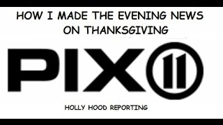 Why I made the Evening News on Thanksgiving