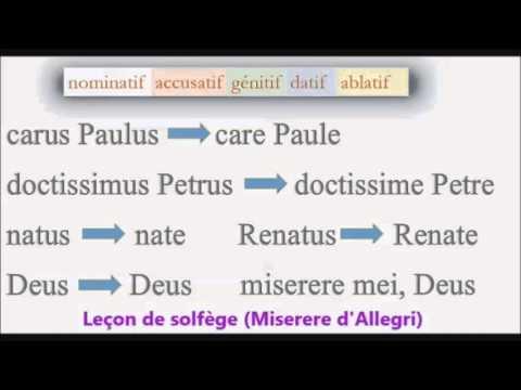Cours de latin - Gilles Louise