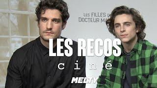 """Timothée Chalamet et Louis Garrel - """"J'ai vu Interstellar au moins 12 fois !"""" (Recos ciné)"""