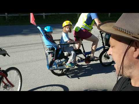 2 Family Cargo Bikes: Bike Friday Haul-A-Day and Madsen Cycles Bucket Bike