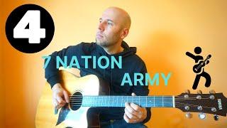 7 Nation Army - Fingerstyle Guitar Tutorial (Видеоурок Часть 4)
