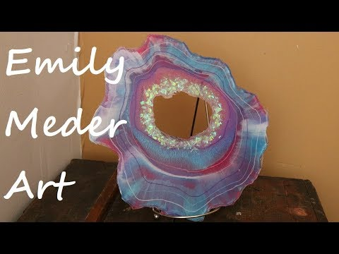 Creating a Reusable Silicone Mold for Free Form Geodes and Unicorn Geode!