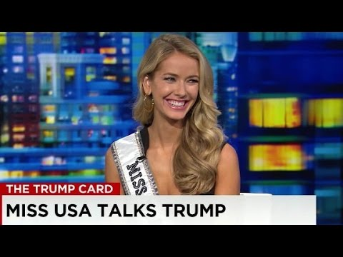 Miss USA on Trump: Pageant not related to presidential race