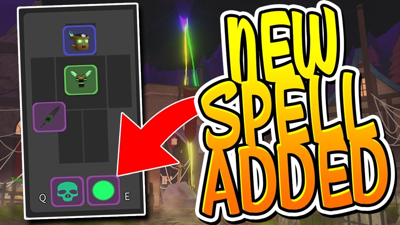 A Secret New Spell Was Added To Dungeon Quest Roblox Youtube