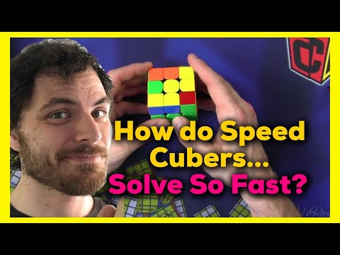 How I Solve a Rubik's Cube in 10 seconds