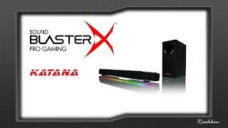 Niesamowite głośniki do komputera - Sound Blaster X Katana od Creative