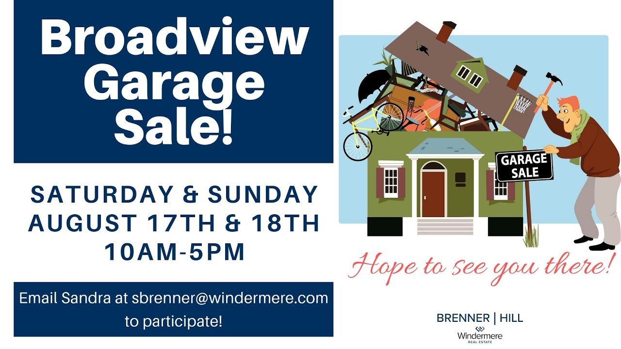 2019 Broadview Garage Sale