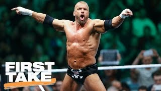 Triple H Full Interview On ESPN's First Take | First Take | March 21, 2017