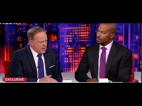 Van Jones To Sean Spicer: My Kids Would Watch You And Say 'Daddy, That's Not True'  || SE CUPP HLN