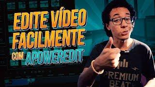 Edição de vídeo FÁCIL e RÁPIDA com o ApowerEdit