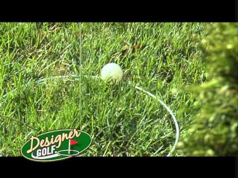 Designer Golf Game  Backyard Golf Game   YouTube