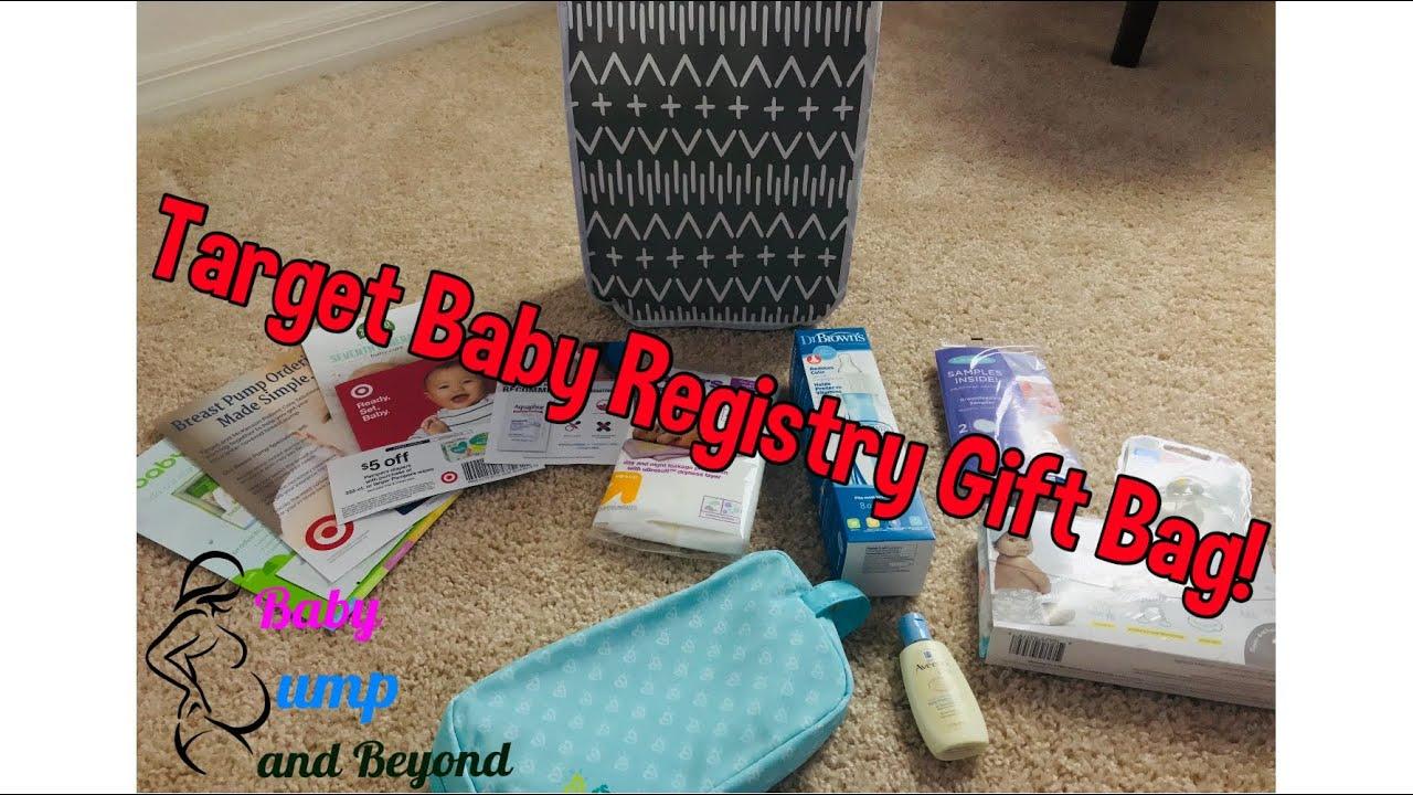 Target Baby Registry Bag - FREE Baby Stuff - YouTube