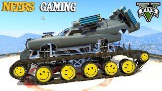 GTA 5 - WAR MACHINE MOD - UFO MOD - FUNNY MOMENTS (Grand Theft Auto Gameplay Video)