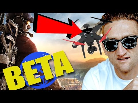 STEALING CASEY NEISTAT'S DRONE (TOM CLANCY'S GHOST RECON WILDLANDS BETA) |
