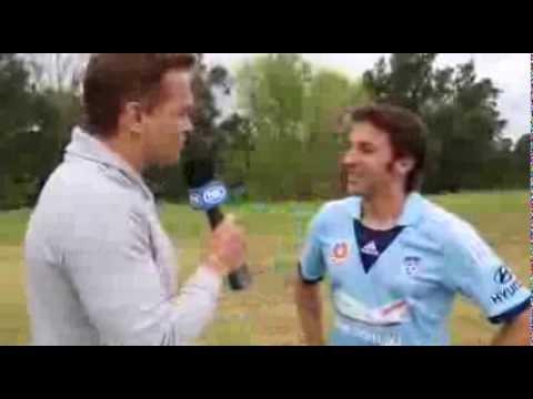 Alessandro Del Piero talks to Mark Bosnich