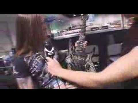 Dean Guitars NAMM 2008 Interview With Rusty Cooley