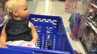 Taking reborn toddler Prim to the store!