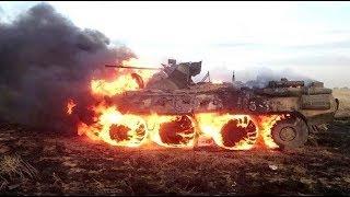 [армия] Солдат случайно сжёг БТР