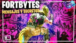 FORTBYTES: All Messages AND Secrets ? Fortnite