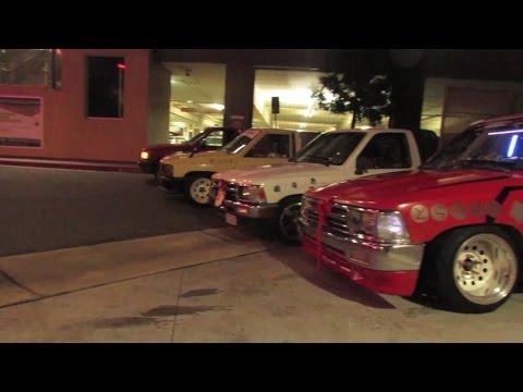 Mobbing with mini trucks (Car Bond collab)