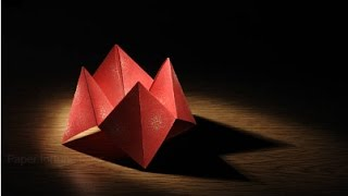 How To Make and Play With An Origami Fortune Teller! [EASY]