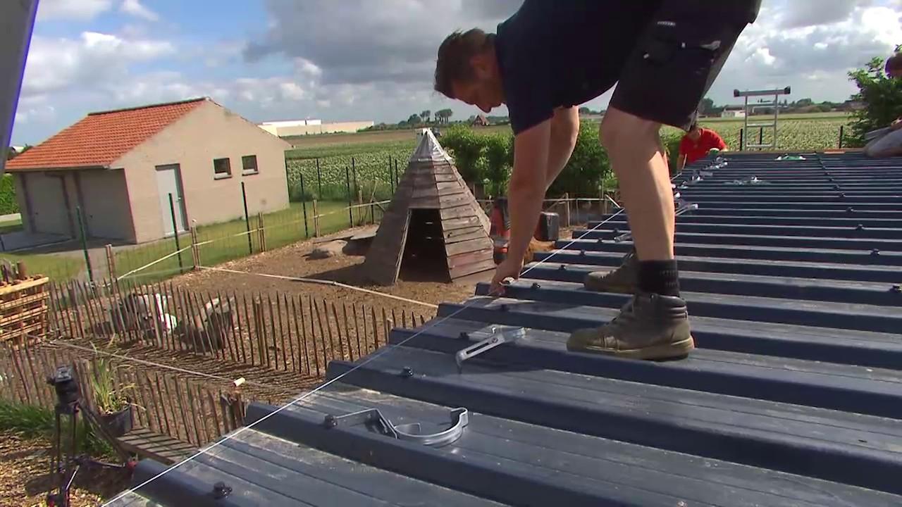 Bedwelming Afwerking tuinhuis: zelf dakgoten plaatsen - YouTube FA48