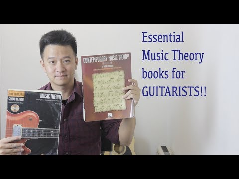 Guitar Book Review: Essential Music Theory books for Guitarists