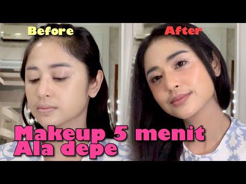 Makeup 5 Menit Ala Depe