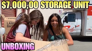 $7,000.00 STORAGE UNIT UNBOXING TREASURE! I bought an abandoned storage unit and found this!