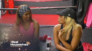 Brinnette and Lethabo Sweat Out Some Drama Over Boxing! – RHOJ Unseen Footage | 1 Magic