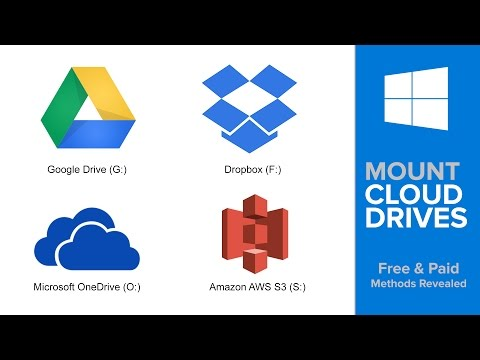 How to Mount Google Drive (Or Dropbox, Amazon Cloud/S3