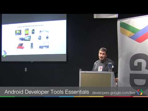 GDG Silicon Valley: Android Developer Tools Essentials - with Mike Wolfson