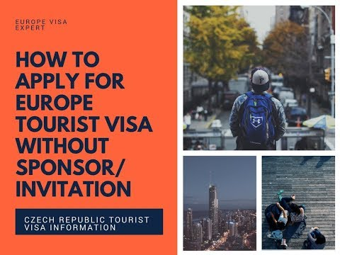 Europe tourist visa without sponsor/invitation Urdu/Hindi - Czech Republic